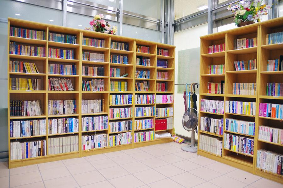 患者様用図書室